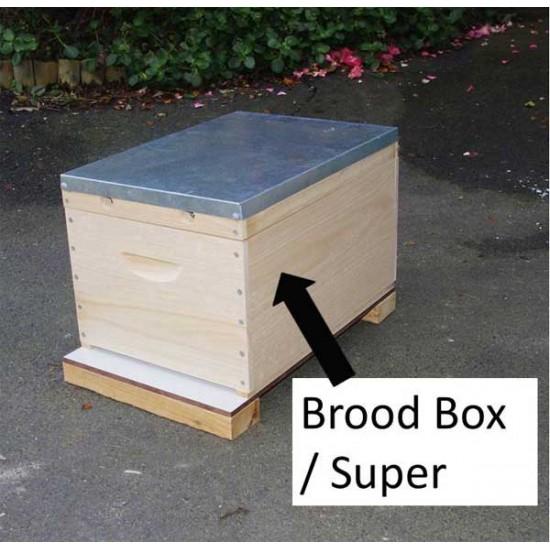 Hive Box (Super / Brood) - Flat pack